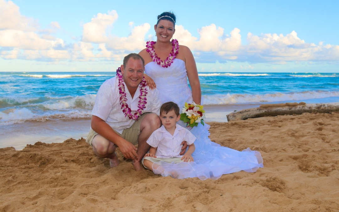 Kauai Familymoon: Kauai Wedding Photography with Kids