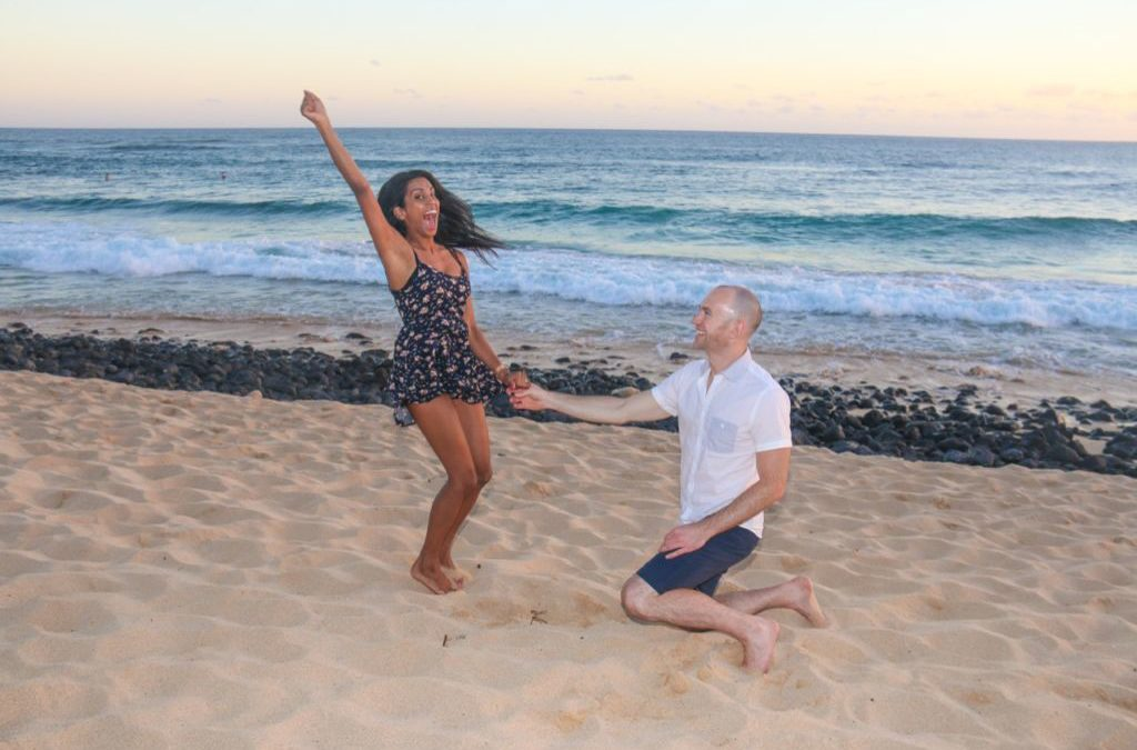 Kauai Engagement Surprise! Brendon's Kauai Proposal to Roshi