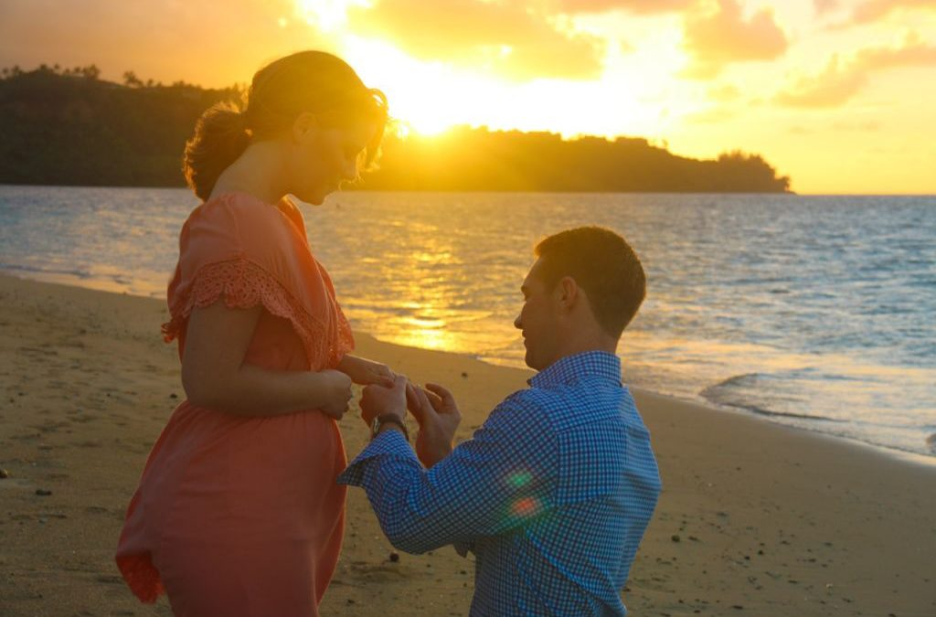 Featured Kauai Proposal: Adam & Joy, Anini Beach