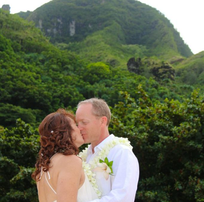 Haena Beach, Kauai: Julie & Bob (Featured Wedding)