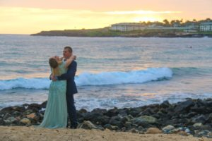 shipwrecks beach kauai wedding photography 5