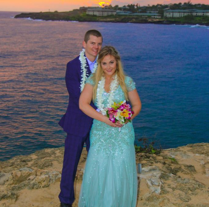 Hyatt & Shipwrecks Beach, Kauai: Angela & Steven (Featured Wedding)