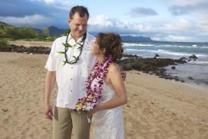 Beach Wedding Hairstyle Updo Kauai Weddings